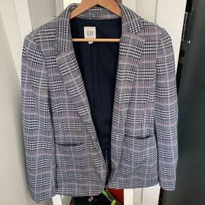 Gap plaid blazer